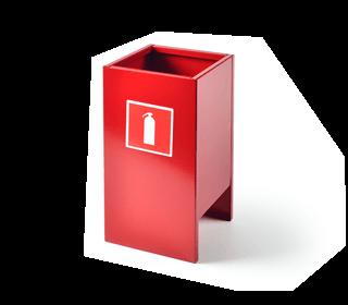 Подставки для огнетушителей п15 и п20 - напольные и настенные 78